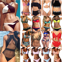 $enCountryForm.capitalKeyWord Canada - Free Ship Top 100 Womens Swimsuit Bikini Set Hot Swimsuit High Quality Swimwear Bathing Suits Summer Clothes Clothing S-2XL Mix order 100pcs