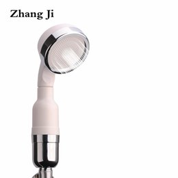 StainleSS panel online shopping - Bathroom Showerhead Filter Stainless Steel Drilling Panel Water Saving Handheld Shower Head High Pressure Therpy Spray Nozzle222