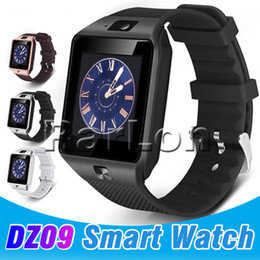 Discount used mobile iphone - DZ09 Bluetooth Smart Watch Wirstband Android Intelligent Watch SIM Card for Iphone Android IOS Mobile Phone Smartwatch w