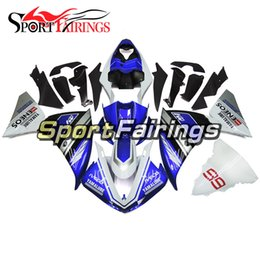 Sportbike Body Canada - Full Fairing Kit For Yamaha YZF1000 R1 09 10 11 2009 - 2011 ABS Plastic Motorcycle Body Kit Bodywork Sportbike Gloss Blue White New Cowlings