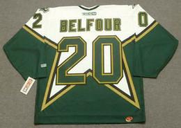 $enCountryForm.capitalKeyWord Australia - ED BELFOUR Dallas Stars 1999 CCM M&N Home Custom Any Name&No. Hockey Personalized Jerseys