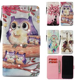 Lg diamond waLLet online shopping - Bling Diamond Design PU Wallet Cases for iPhone XR XS Plus Kickstand Phone Cover Case for Samsung Galaxy Note coque