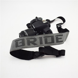 Camera Shoulder Strap Australia - Universal Adjustable JDM Style Bride Camera Strap Camera Shoulder Neck Strap Belt for Racing Souvenirs