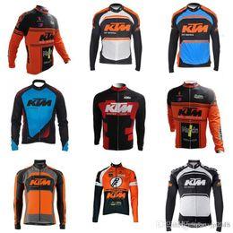 f1c523488 KTM team Cycling long Sleeves jersey Hot sale style 2018 summer Men s Shirt  Reflective Bike Top Road Bike Cycling Jersey D710
