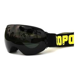 $enCountryForm.capitalKeyWord NZ - Copozz skiing snowboard goggles double lens UV anti-fog ski goggles(black+black)