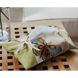 $enCountryForm.capitalKeyWord NZ - Cloth Tissue Box Covers For Paper Napkins Car Home Decoration Accessories Seat Type Luxury Tissue Box Holder Modern QQP225