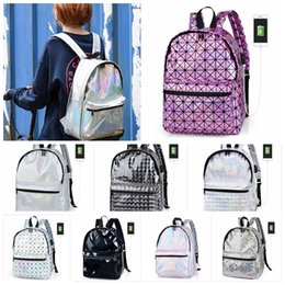 Hottest college backpacks online shopping - Women Backpack With USB Charge laptop Hologram Laser Women Backpack Hot Sale Backpacks For Teenage Girls BBA91
