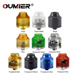 Fan diameter online shopping - OUMIER WASP NANO RDA mm Diameter Electronic Cigarette with Bottom filling design BF pin for DIY FANS