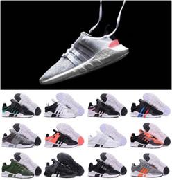 Adidas Prophere Undefeated 2018 EQT 93 17 ultra zapato Soporte Futuro negro blanco rosado Paquete de escudo de niños niños niñas zapatos turbo rojo