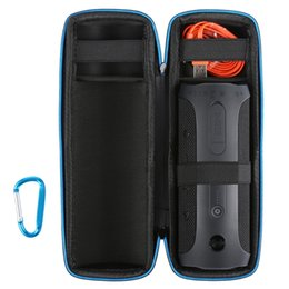 Nova viagem carregando capa protetora case bag para jbl flip flip4 4 sem fio bluetooth speaker para plug cabos venda por atacado