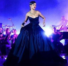 Ingrosso Sweetheart Abiti Da Sera A-Line Backless Prom Gown Plus Size Senza Maniche Cerniera Indietro Piano-Lunghezza Formale Prom Gown Spedizione Gratuita