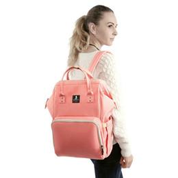 $enCountryForm.capitalKeyWord UK - Fashion Double Shoulder Mummy Bag Multi Function Large Capacity Mother Baby Package