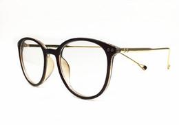 ad865ab24d 2019 Fashion Eyeglasses Frames Big Prescription Glass Frame Women Round  Glasses Frame Brand Myopia Optical Frame Armacao De Oculos