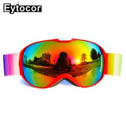 $enCountryForm.capitalKeyWord Australia - EYTOCOR Anti-fog UV400 Skiing Goggles Snowboarding Glasses For Kids Snow Skiing Eyewear Children Ski Goggles For Boys Girls