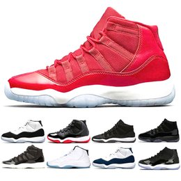 2984e8c388bc94 Cap and Gown 11 Prom Night 11s Gym Red Bred PRM Heiress men women basketball  shoes WIN LIKE 96 82 trainers sports sneakers
