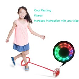 $enCountryForm.capitalKeyWord NZ - Flashing Jumping Ball Outdoor Bouncing Fun fitness Balls for Kids Sport Ankle Skip Color Rotating Ball Permanent luminous