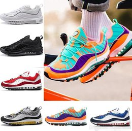 f460d1ba645c82 2018 Fashion 98 Sup Gundam Vibrant Sports Air Running Shoes Maxes Mens 98s  Women Blue Red Black Designer supre Trainers Sneakers Size 5-12