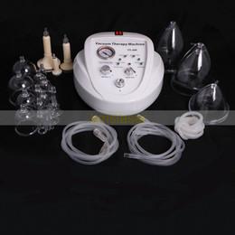 UE esentasse! Tazze da 3 tazze Vacuum Therapy Ingrandimento del seno Enhancement Bra Pump Breast Massager Sollevamento del corpo che modella l'attrezzatura di bellezza