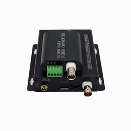 Mini 1V1D (o 1V1CC) para convertidor de medios ópticos, Mini 1V1D (1 puerto de video + 1 puerto RS485) sobre transceptor de fibra, 20 km, SM, SX en venta