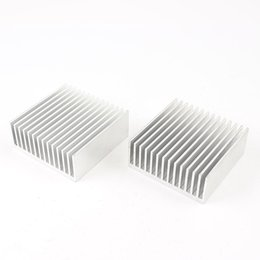 China Wholesale- 2pcs Chipset Heatsink Heat Diffuse Cooling Fin 50mm x 56mm x 20mm cheap chipset fan suppliers