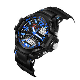 $enCountryForm.capitalKeyWord UK - SB0033 Fashion Digital Wristwatches Men watches Swim Water Resistant Sports Watch outdoor Multifunction Dual display Mens watch