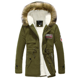 Wool Blend Military Jacket Canada - 2018 Fashion England Style Men Military Army jackets plus size M-4XL 4 Colors zipper coat outerwear embroidery men trench coats male jacket
