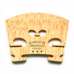 Discount violin bridges - Genuine Despiau Superieur Violin Bridge Maple Wood Material For 4 4 Violin 3 Tree Three Tree violino Accessories Made in