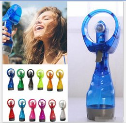 $enCountryForm.capitalKeyWord NZ - Mini Hand Held Spray Portable Travel Handle Water Spray Cool Mist Fan Bottle Mist Sport Travel Beach Camp Party Favor. DHL Free shpping