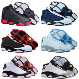 Hologram Shoes Canada - 13 mens basketball shoes sneakers sports Wheat Hyper Royal History of Flight Altitude Love & Respect Black Cat DMP Grey Toe Bred Hologram 3M