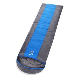 Sleeping Bags Useful Autumn And Winter Outdoor Single Stitching Sleeping Bag Ultra Light Thick At6102 Comfortable And Easy To Wear Camping & Hiking