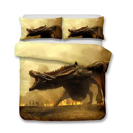 Discount machines houses - HBO Song of Ice and Fire Game of Thrones 3D Printed Bedding Sets House Targaryen Dragon Duvet Cover
