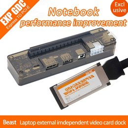 $enCountryForm.capitalKeyWord NZ - EXP GDC Beast Laptop External Independent Video Card Dock + Expresscard Cable with Dual TD Switch 6Pin Forward