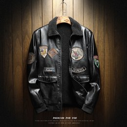 $enCountryForm.capitalKeyWord NZ - For MOTOGP Vintage Men Leather Suede Jacket Fashion Autumn Winter Motorcycle PU Leather Male Racing Jackets ATV Outerwear Faux Leather Coat