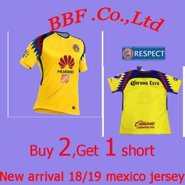 6b3af5411 Thailand Aguilas 18 19 camiseta de futbol Mexican League soccer jersey kit  thai quality 2018 green Mexico american club football shirts