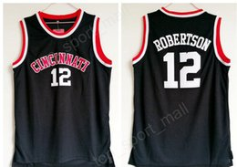Dryer for cheap online shopping - Cheap Oscar Robertson Jersey University Basketball Cincinnati Bearcats College Jerseys Men Black Color Breathable For Sport Fans Sale