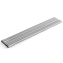 $enCountryForm.capitalKeyWord UK - 215MM length Durable Stainless Steel Straight Drinking Straw Straws Metal Bar Family kitchen