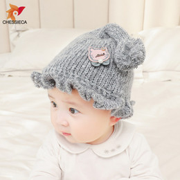 $enCountryForm.capitalKeyWord NZ - CHESSIECA Autumn New Baby Hat Girls Cute Pompom Baby Girl Hat Wool Cap Knitted Warm Long Pompom Ball Beanie For Kid Boys