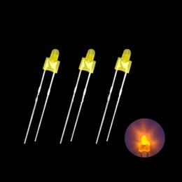 3mm Slow Flash Tricolor Colorful Led 1000 .. long Legs 1000pcs F3 Led Lamp Light-emitting Diode Choice Materials