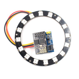 $enCountryForm.capitalKeyWord Canada - ESP8266 ESP-01S RGB LED Controller Module for Arduino IDE WS2812 Light Ring String Smart Electronic DIY Project Christmas