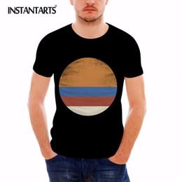 $enCountryForm.capitalKeyWord Australia - INSTANTARTS Sun Print Casual Short Sleeve Men T Shirt Summer Comfort Tops Tee Shirt for Male Brand Clothing O-neck Tshirt Boys