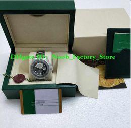 Ingrosso Orologio Super Style versione 3 V5 2813 Orologio nero in ceramica con vetro zaffiro 40MM 116610 116610LN Orologio da uomo