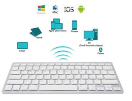 O teclado sem fio ultra-slim o mais novo de Bluetooth 3.0 para o andróide para o iPad IOS Apple Windows do MAC para o sistema do ósmio venda por atacado