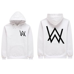 585df64bf 2018 Men Sweat Shirts Music DJ Comedy Alan Walker Hip Hop Hooded Black  Jacket Men Clothing Fashion Hooded Hombre S-2XL