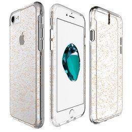 Scratch Resistant Coating Australia - For iPhone 6 7 8 Plus Samsung S8 Plus Note 8 Bling Slim Independent Button Anti Scratch Coating Tpu Pc Double Protection Phone Case