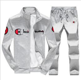 Large Lapel Suits Australia - 2019 brand sporting suit men warm hooded tracksuit track men's sweat suits set letter print large size sweatsuit male 5XL sets