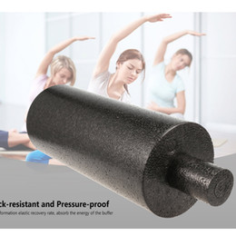 $enCountryForm.capitalKeyWord NZ - 2pcs 2in1 33x 14cm EPP Foam yoga Roll High Fitness Massage Roller Exercise Balance Yoga Brick Block Gym Equipment Black Sports