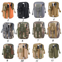 TacTical walleT miliTary online shopping - Universal Outdoor Tactical Holster Military Molle Hip Waist Belt Bag Wallet Pouch Purse Phone Cases for iPhone X Ship In Day