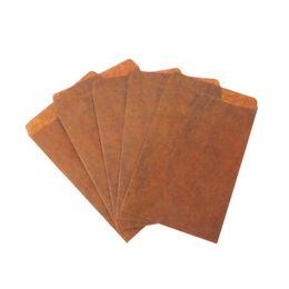 Paper Gift Envelopes UK - 5 pcs lot Creative Style Vintage Kraft Paper Envelope For Postcard Novelty Item Kids Gift Stationery