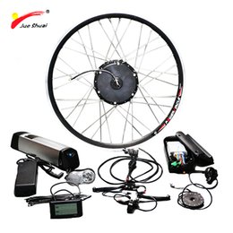 electric wheels kit NZ - Free Shipping Electric Bike Conversion Kit With 36V 12ah Lithium Battery 36V 500W Wheel Motor For Bicycle Ebike Electric Bike