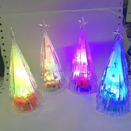 Discount paper stuffing - Transparent crystal, meteor tree, colorful night lamp, acrylic, Christmas tree, and meteor.